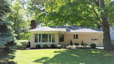 WATCHUNG Rental For Rent: 110 Brookdale Road