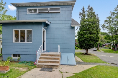 RAHWAY Single Family Home For Sale: 578 Linden Ave