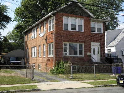Nutley Twp. Multi Family Home For Sale: 35 Brookline Avenue