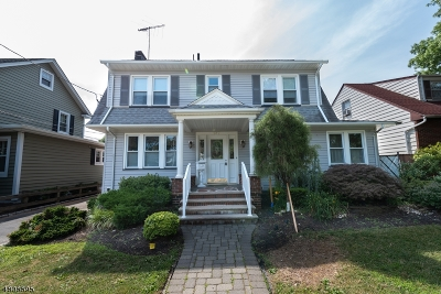 RAHWAY Single Family Home For Sale: 617 Pierpont St