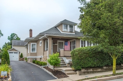 Boonton Town Single Family Home For Sale: 720 Wootton St