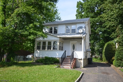 Woodbridge Twp. Single Family Home For Sale: 43 N Juliet St