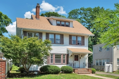 Montclair Twp. Single Family Home For Sale: 10 Grenada Pl