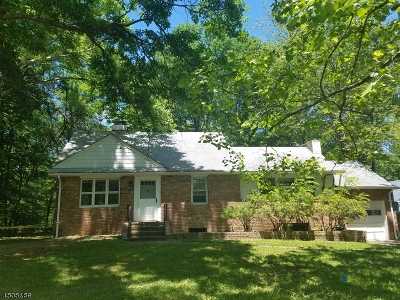 Parsippany-Troy Hills Twp. Single Family Home For Sale: 64 Preston Rd