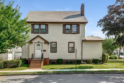 ELIZABETH Single Family Home For Sale: 360 Monmouth Rd
