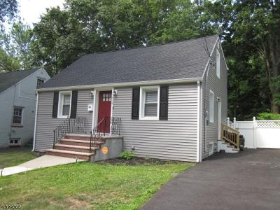 Roselle Boro Single Family Home For Sale: 914 Oak St