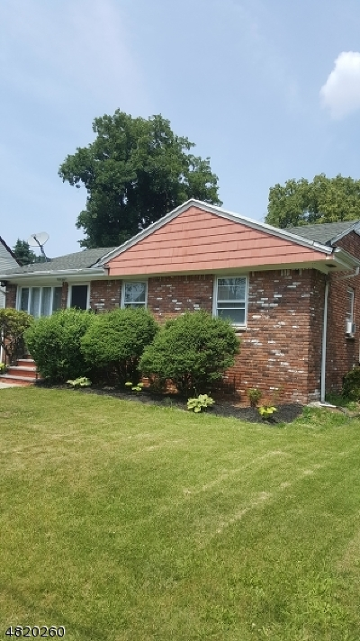 ROSELLE Single Family Home For Sale: 217 Lafayette St
