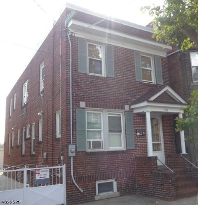 Newark City NJ Multi Family Home For Sale: $549,000