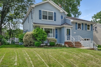 Cranford Twp. Single Family Home For Sale: 255 Hillside Ave
