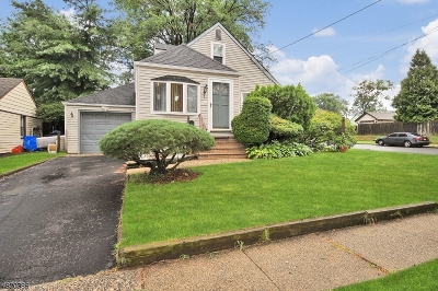ROSELLE Single Family Home For Sale: 202 Floral St