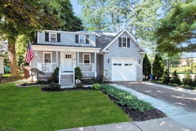 Scotch Plains Twp. Single Family Home For Sale: 442 Farley Ave