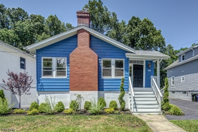 Cranford Twp. Single Family Home For Sale: 46 Johnson Ave