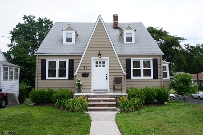 Clark Twp. Single Family Home For Sale: 75 Lincoln Blvd