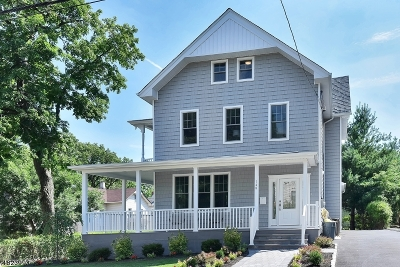 Montclair Twp. Single Family Home For Sale: 149 Walnut St