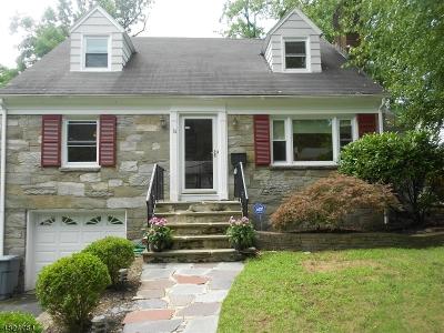 Millburn Twp. Single Family Home For Sale: 14 Evergreen Ter