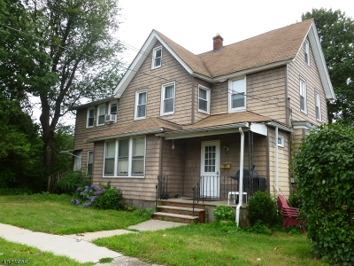 Nutley Twp. Multi Family Home For Sale: 90 Passaic Ave