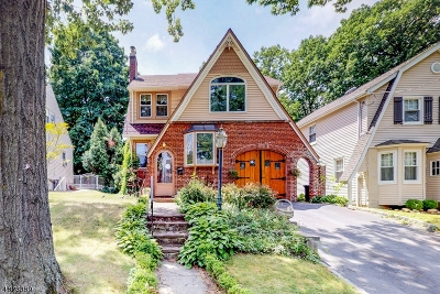 Nutley Twp. Single Family Home For Sale: 83 McKinley St