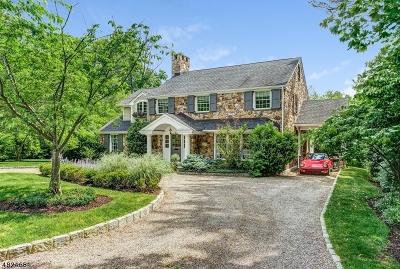 Millburn Twp. Single Family Home For Sale: 88 Stewart Rd