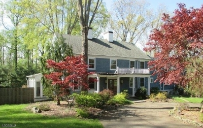 Scotch Plains Twp. Single Family Home For Sale: 1271 Cooper Rd
