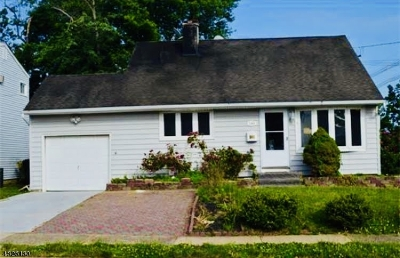 Woodbridge Twp. Single Family Home For Sale: 144 Brown Ave
