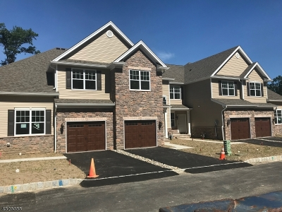 Parsippany-Troy Hills Twp. Condo/Townhouse For Sale: 6 Pleasant Valley Way #6