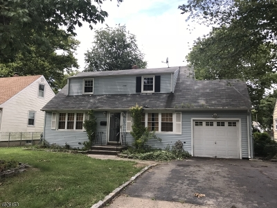 Scotch Plains Twp. Single Family Home For Sale: 1601 Front St