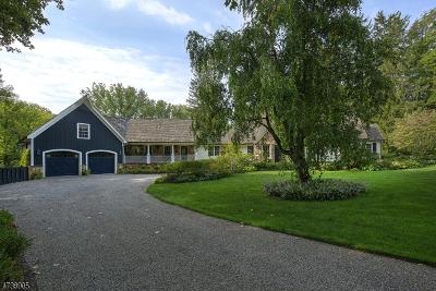 Peapack Gladstone Boro Single Family Home For Sale: 106 Mosle Rd