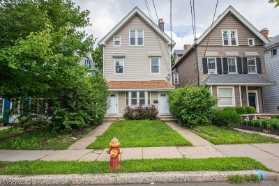 Morristown Town Multi Family Home For Sale: 25 Western Ave
