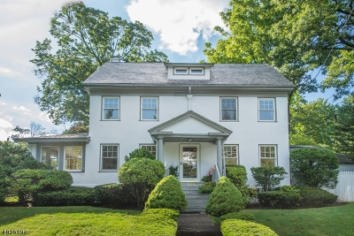 Montclair Twp. Single Family Home For Sale: 824 Valley Rd