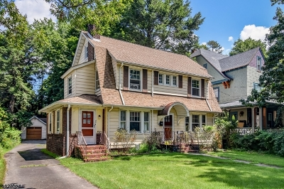 Montclair Twp. Single Family Home For Sale: 80 Watchung Ave