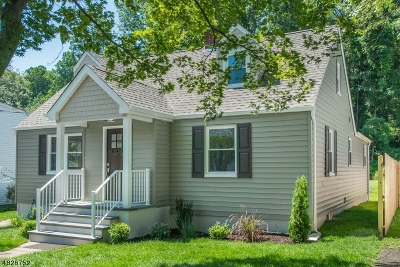 Morristown Town Single Family Home For Sale: 10 Milton Pl