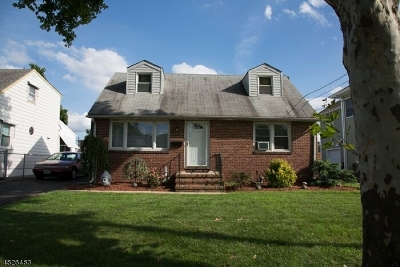 Kenilworth Boro Single Family Home For Sale: 627 Jefferson Ave
