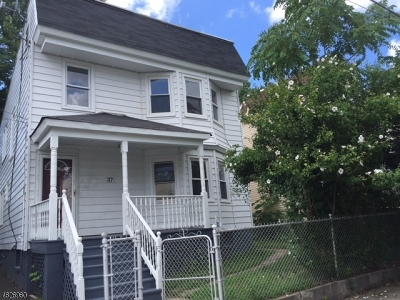 West Orange Twp. Multi Family Home For Sale: 37 Liberty St