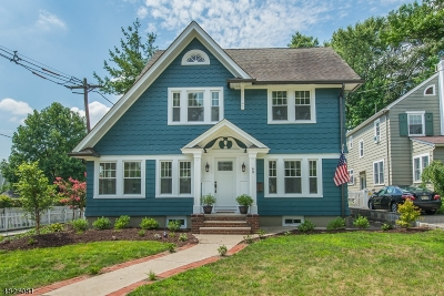 Nutley Twp. Single Family Home For Sale: 69 N Spring Garden Ave