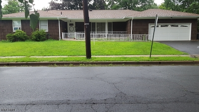 Roselle Boro Single Family Home For Sale: 1244 Shaffer Ave