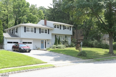 West Orange Twp. Single Family Home For Sale: 6 Rock Spring Ave
