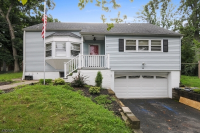 West Orange Twp. Single Family Home For Sale: 44 Seaman Rd
