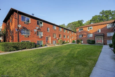 South Orange Village Twp. Condo/Townhouse For Sale: 372 Valley Street #4F