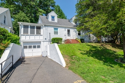 West Orange Twp. Single Family Home For Sale: 53 Roosevelt Ave