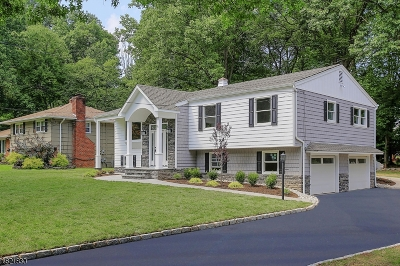 Berkeley Heights Twp. Single Family Home For Sale: 88 Sutton Dr