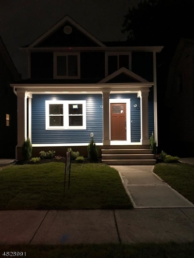 Hillside Twp. Single Family Home For Sale: 1132 Bank St
