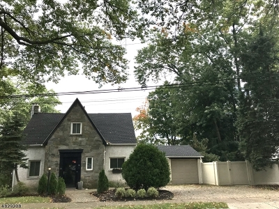 West Orange Twp. Single Family Home For Sale: 46 Belgrade Ter