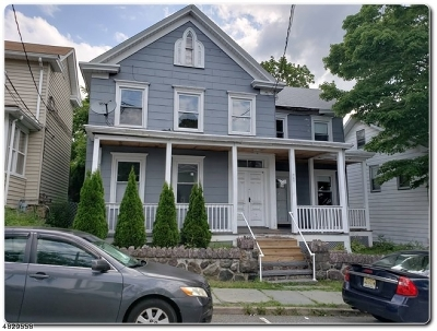 Boonton Town Single Family Home For Sale