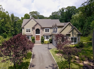 WATCHUNG Single Family Home For Sale: 135 Oakwood Road
