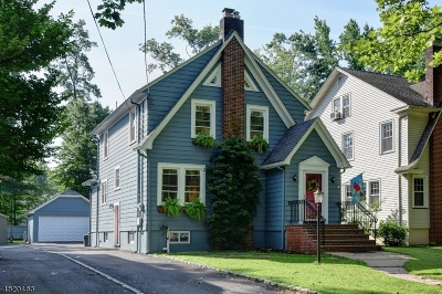 Cranford Twp. Single Family Home For Sale: 343 S Union Ave