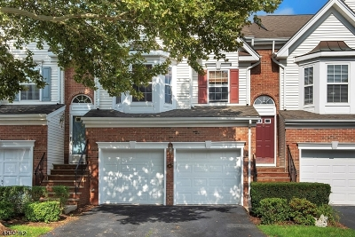 Nutley Twp. Condo/Townhouse For Sale: 327 Winthrop Dr