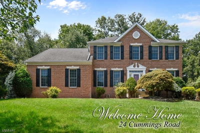 South Brunswick Twp. Single Family Home For Sale: 24 Cummings Rd