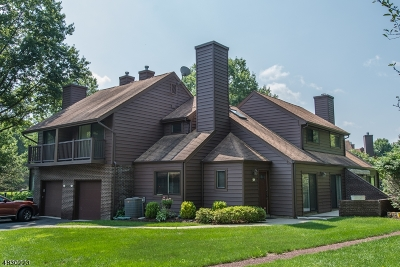 Parsippany-Troy Hills Twp. Condo/Townhouse For Sale: 3d Yacenda Dr