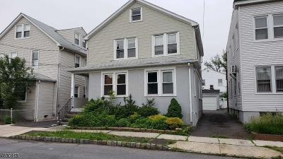 Essex County, Morris County, Union County Multi Family Home For Sale: 29 Mechanic St