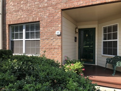 Morris Twp. Condo/Townhouse For Sale: 15 Gatehouse Ct